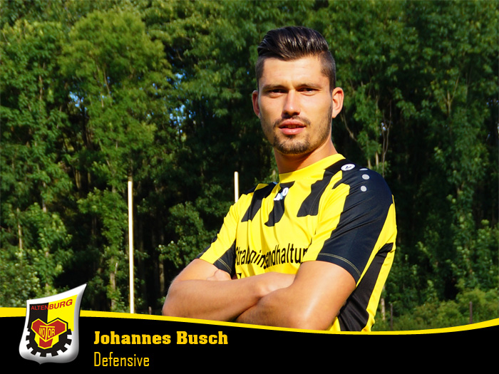 Johannes Busch | Defensive